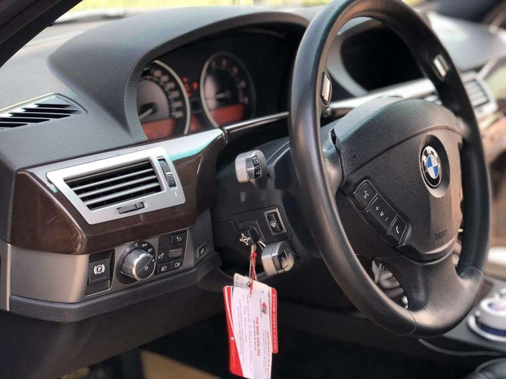 Bán ô tô BMW 7 Series 750Li đời 2007, màu đen (11)