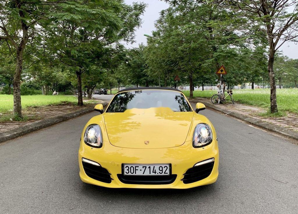 Bán Porsche Boxster sản xuất 2015, màu vàng, nhập khẩu chính chủ (1)
