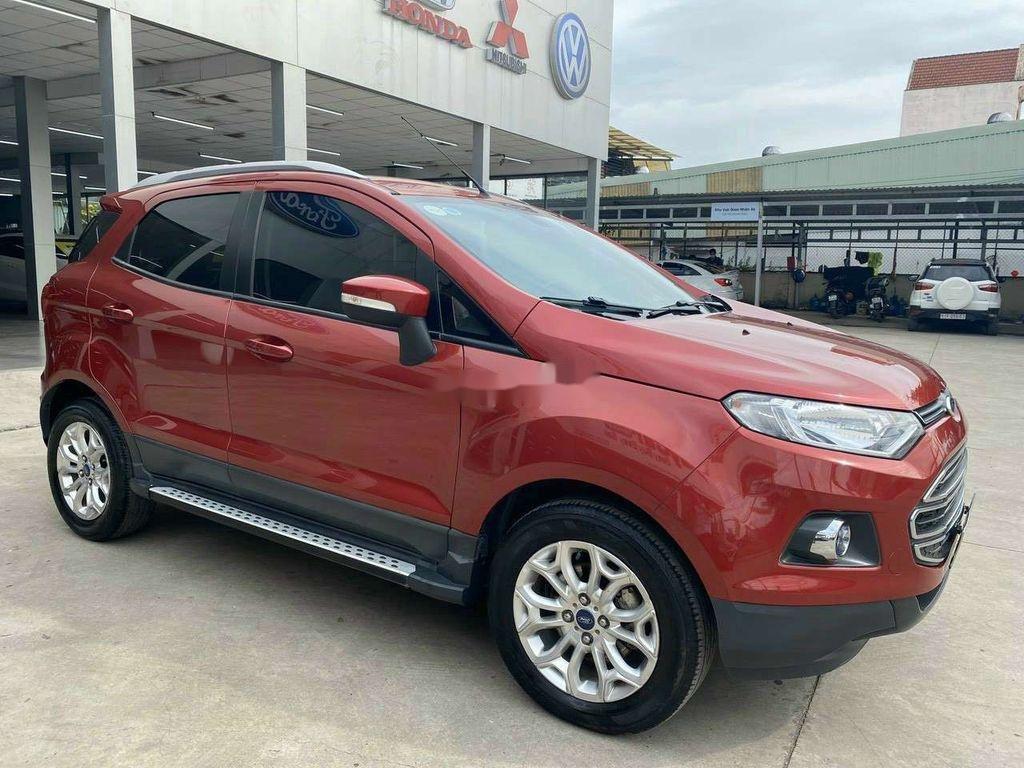 Cần bán gấp Ford EcoSport 2015, màu đỏ, giá tốt (1)