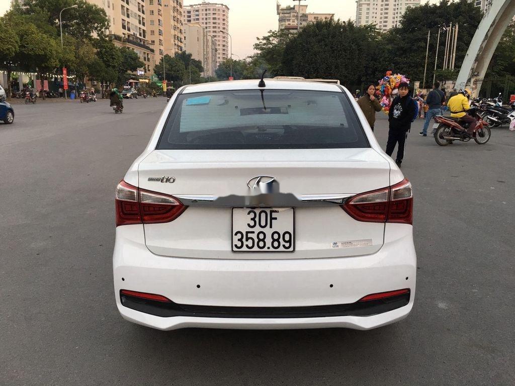 Cần bán gấp Hyundai Grand i10 sản xuất năm 2018, màu trắng  (1)