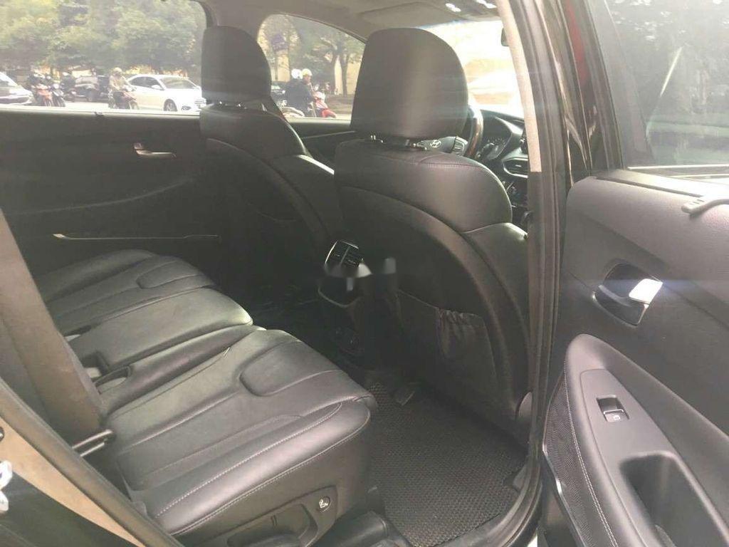 Bán Hyundai Santa Fe đời 2019, màu đen số tự động (8)