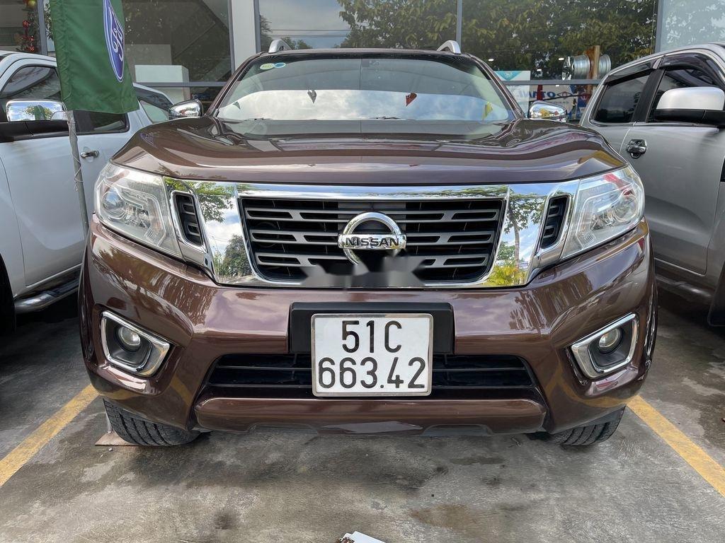 Bán Nissan Navara sản xuất năm 2015, màu nâu, nhập khẩu (1)