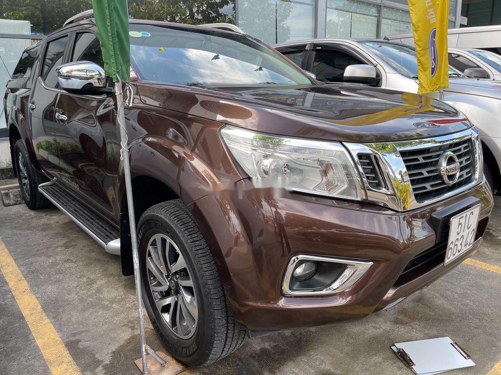 Bán Nissan Navara sản xuất năm 2015, màu nâu, nhập khẩu (2)