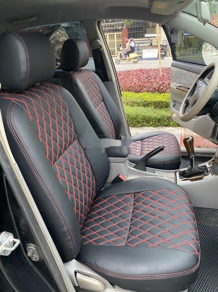 Cần bán lại xe Toyota Corolla Altis đời 2002, màu đen, giá chỉ 198 triệu (3)