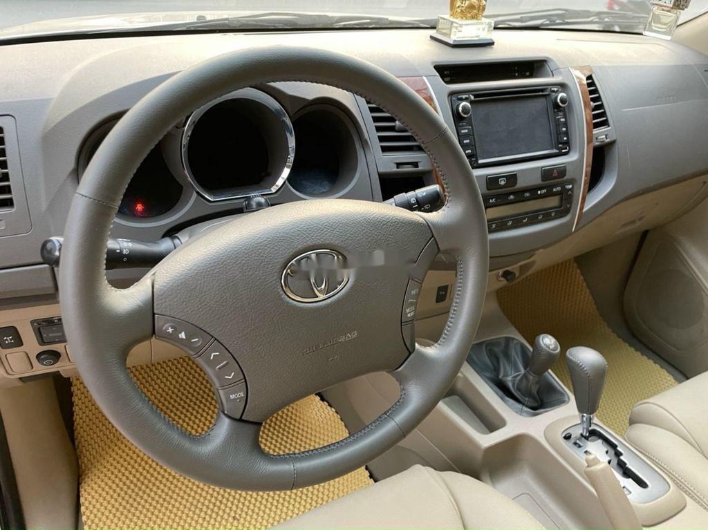 Bán ô tô Toyota Fortuner đời 2009, màu bạc (9)