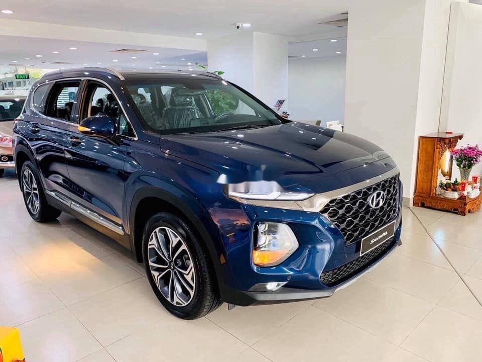 Bán Hyundai Santa Fe 2.2L máy dầu cao cấp năm 2020, xe nhập, giá chỉ 330 triệu (3)