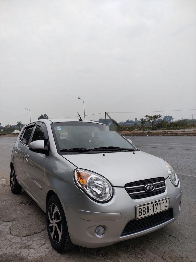 Cần bán lại xe Kia Morning đời 2011, màu bạc còn mới, giá tốt (1)