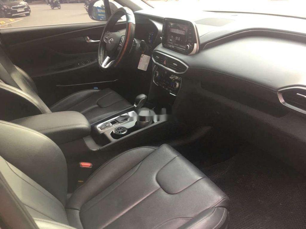 Bán Hyundai Santa Fe đời 2019, màu đen số tự động (6)