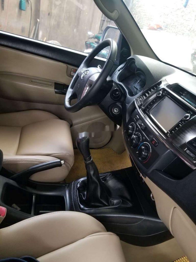 Bán Toyota Fortuner năm sản xuất 2014, màu bạc, nhập khẩu, giá tốt (5)