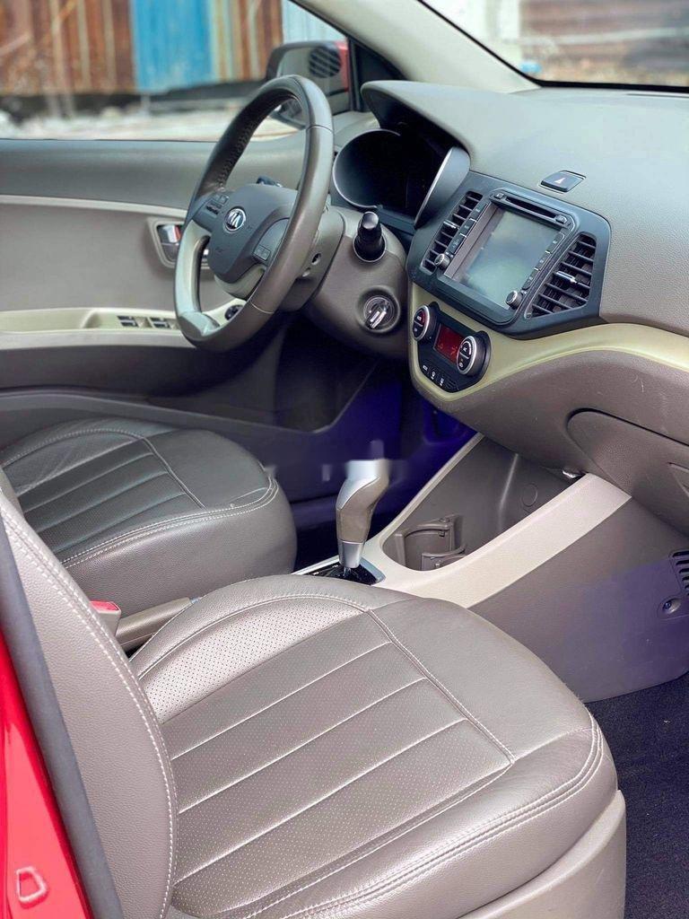 Cần bán lại xe Kia Morning đời 2016, màu đỏ, giá chỉ 316 triệu (6)