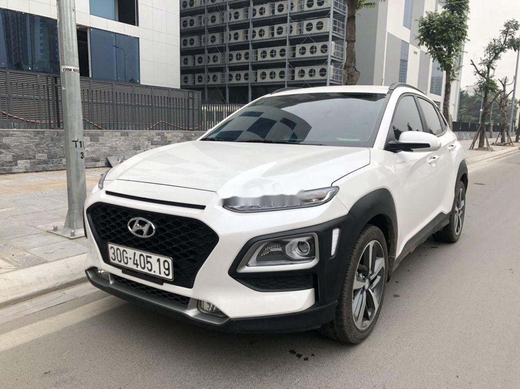 Bán xe Hyundai Kona đời 2020, màu trắng (1)