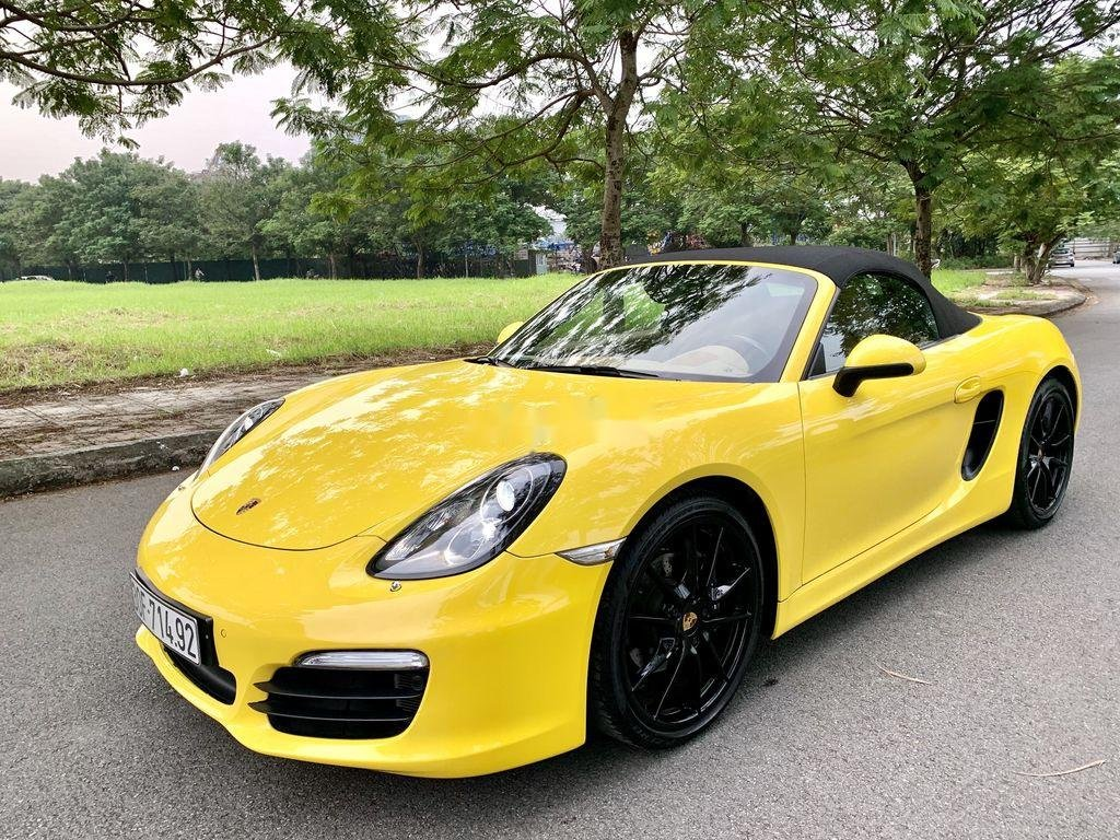 Bán Porsche Boxster sản xuất 2015, màu vàng, nhập khẩu chính chủ (3)