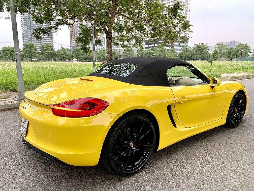 Bán Porsche Boxster sản xuất 2015, màu vàng, nhập khẩu chính chủ (7)