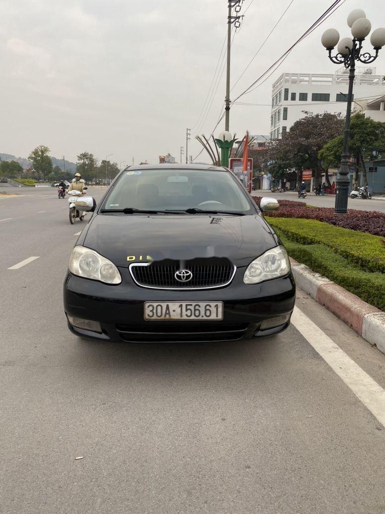 Cần bán lại xe Toyota Corolla Altis đời 2002, màu đen, giá chỉ 198 triệu (11)