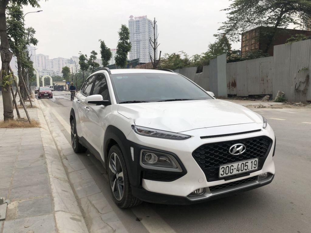 Bán xe Hyundai Kona đời 2020, màu trắng (5)