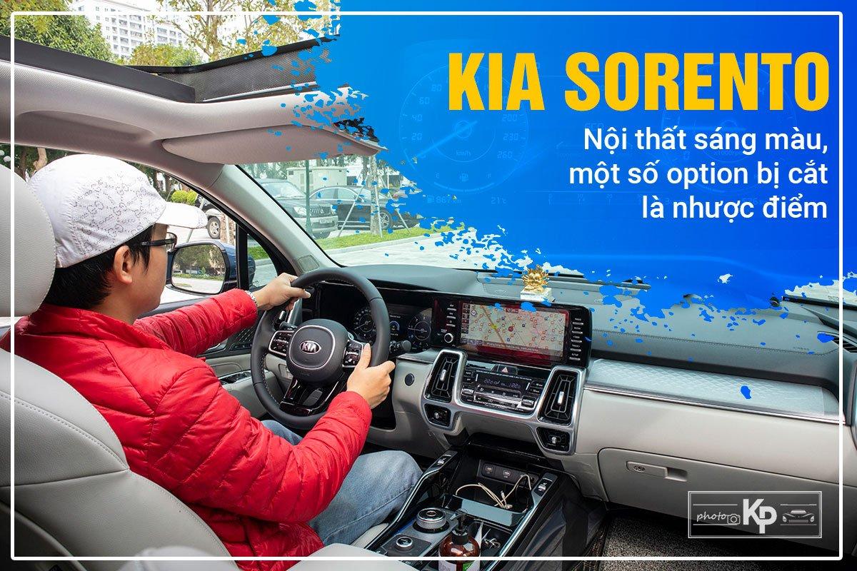 Người dùng đánh giá Kia Sorento: a3