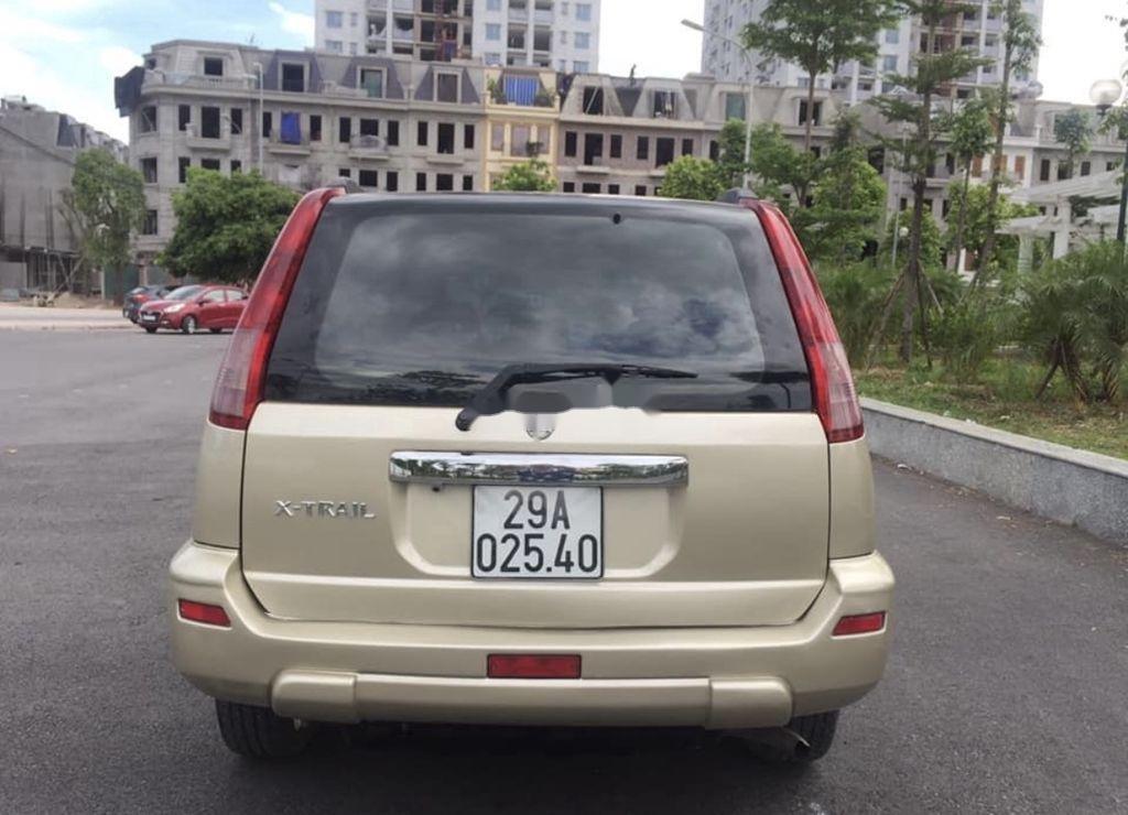Cần bán xe Nissan X trail năm 2003, màu vàng, nhập khẩu  (2)