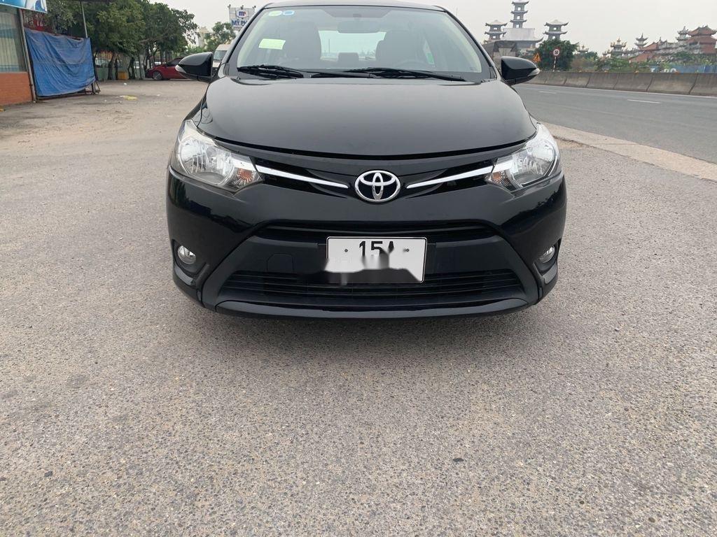 Cần bán gấp Toyota Vios 2016, màu đen, xe nhập, giá tốt (5)