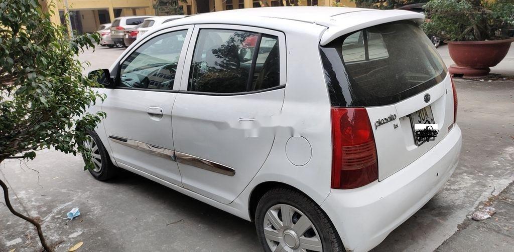 Bán xe Kia Morning đời 2008, màu trắng, nhập khẩu  (5)