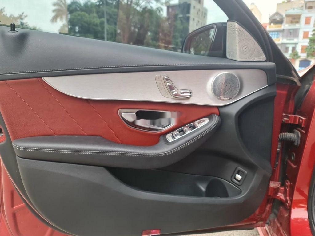 Cần bán gấp Mercedes C 300 AMG đời 2017, màu đỏ  (9)