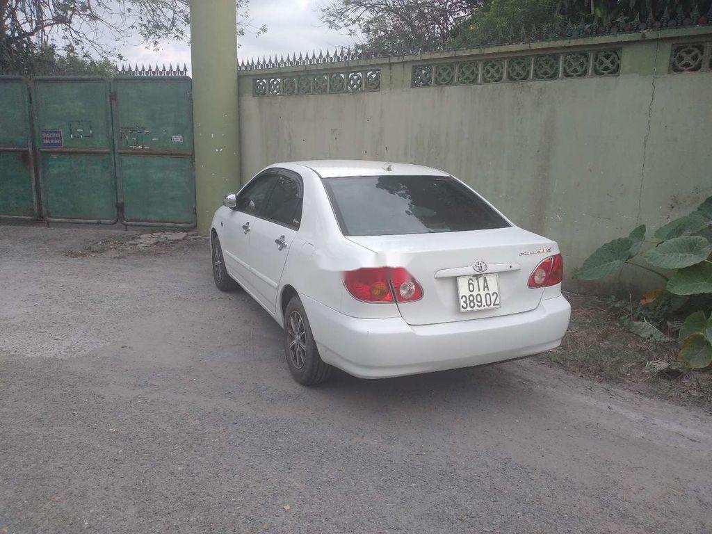 Bán xe Toyota Corolla Altis năm sản xuất 2003, màu trắng (1)