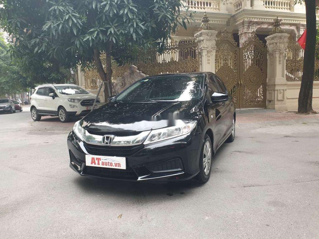 Cần bán lại xe Honda City 2017, màu đen số sàn, 410 triệu (2)