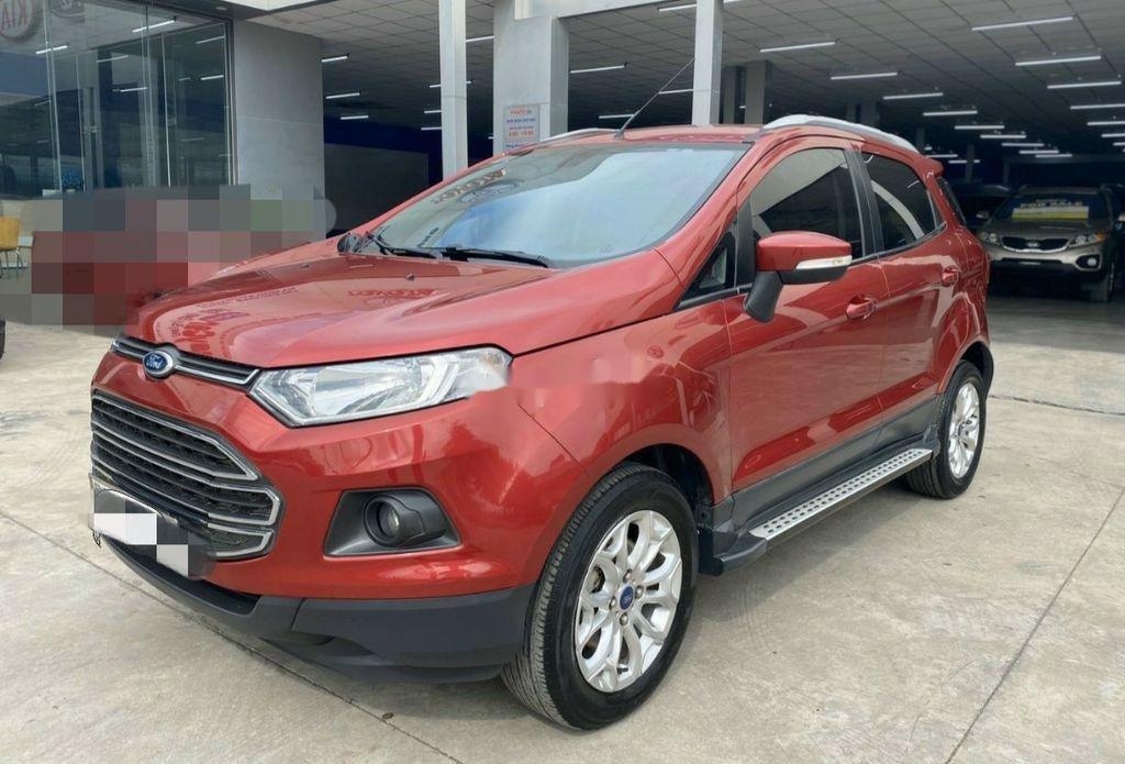 Bán Ford EcoSport sản xuất năm 2015, màu đỏ, giá chỉ 435 triệu (2)