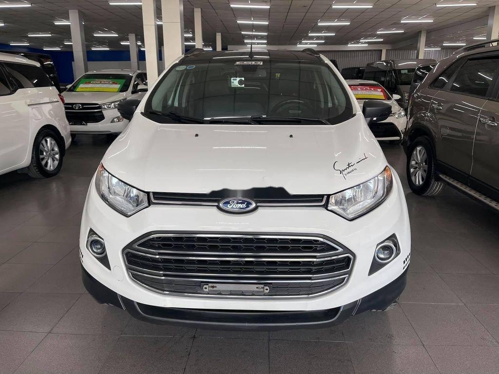 Cần bán gấp Ford EcoSport đời 2014, màu trắng chính chủ (1)