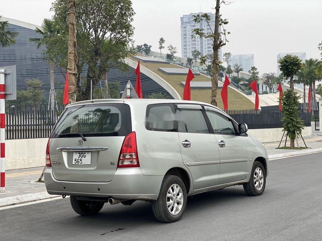Cần bán xe Toyota Innova năm 2007, màu bạc chính chủ, giá 275tr (3)