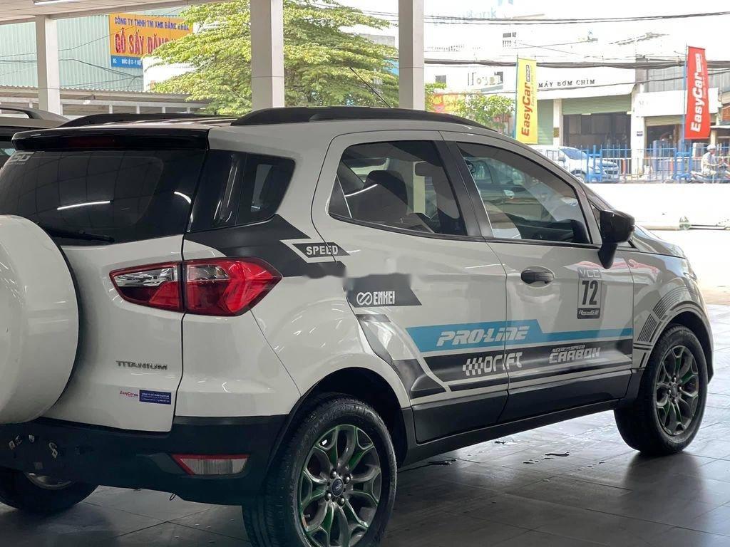 Cần bán gấp Ford EcoSport đời 2014, màu trắng chính chủ (2)