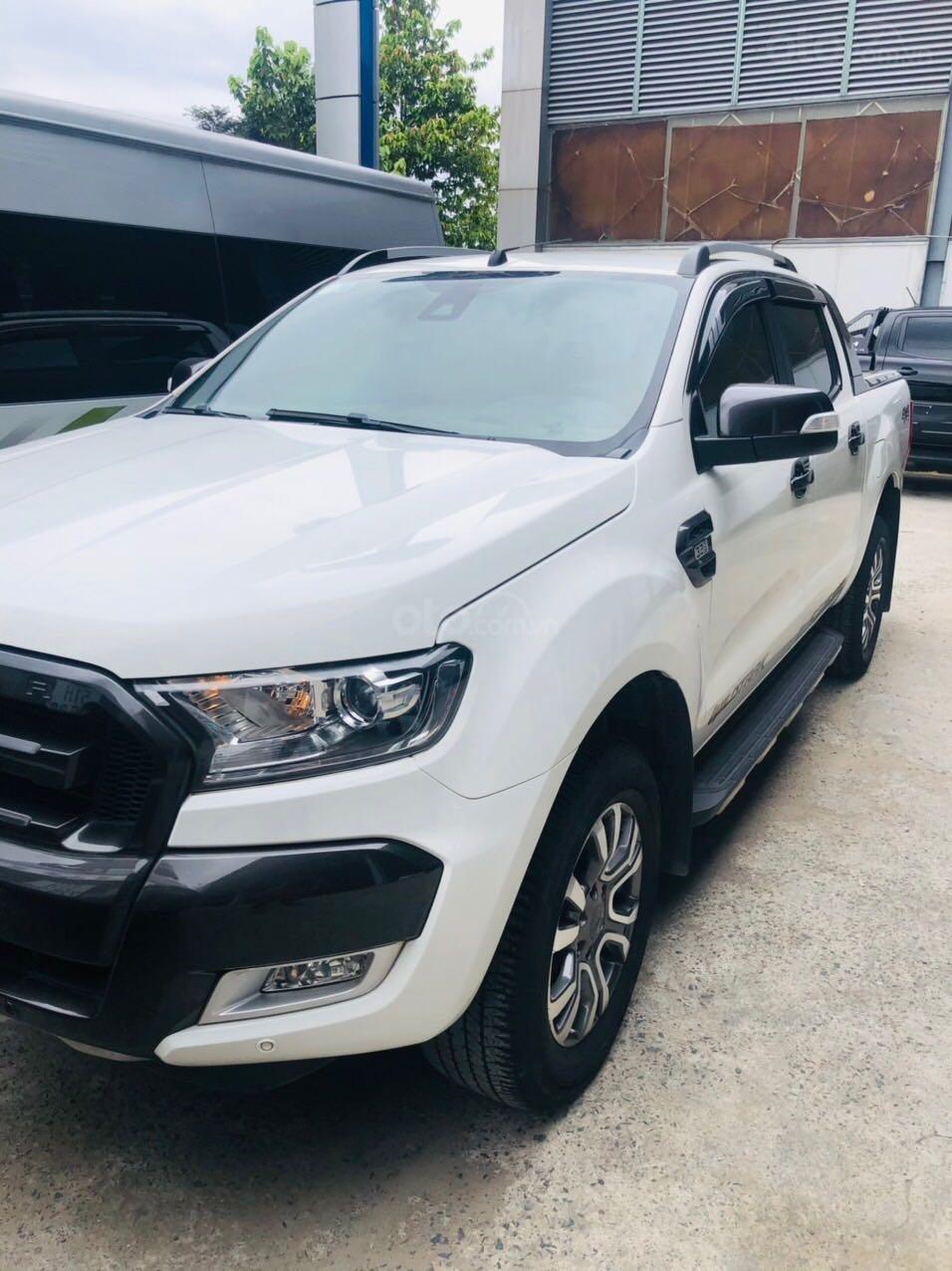 Cần bán Ford Ranger đăng ký lần đầu 2017, màu trắng còn mới giá tốt 775 triệu đồng. (1)
