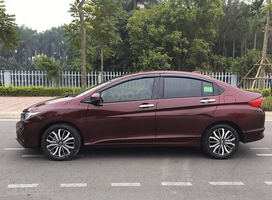 Cần bán gấp Honda City sản xuất năm 2019, màu đỏ (1)