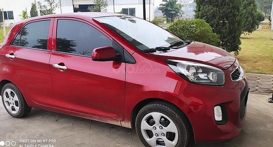 Bán Kia Morning năm 2019, màu đỏ, xe chính chủ còn mới (1)