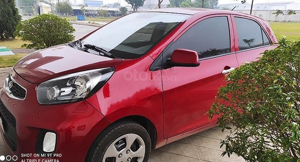 Bán Kia Morning năm 2019, màu đỏ, xe chính chủ còn mới (4)