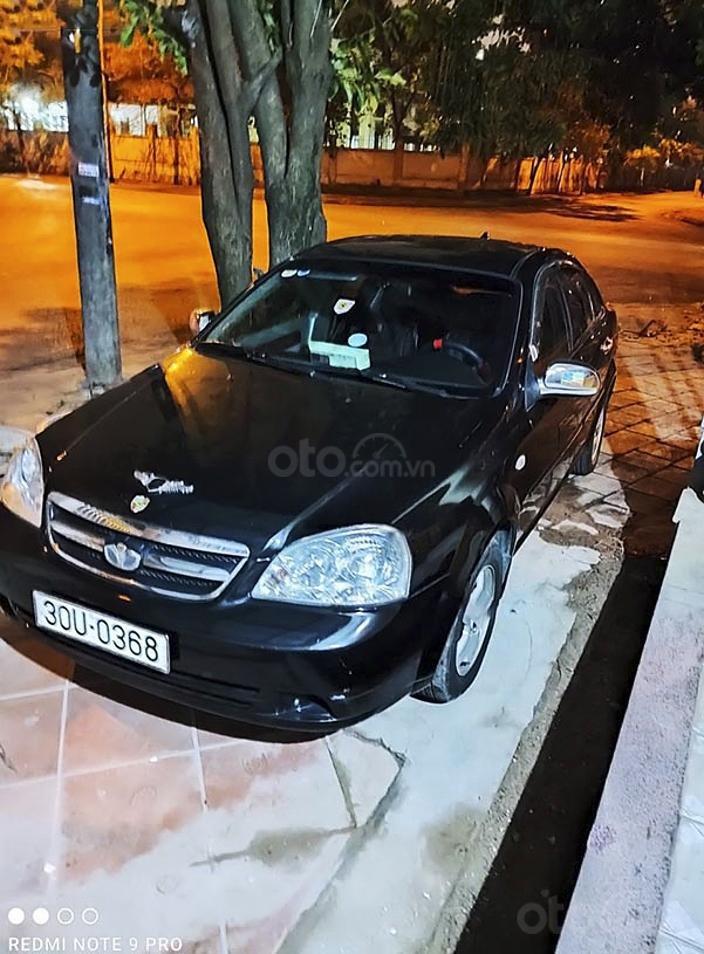 Cần bán xe Daewoo Lacetti năm sản xuất 2009, màu đen, giá tốt (1)