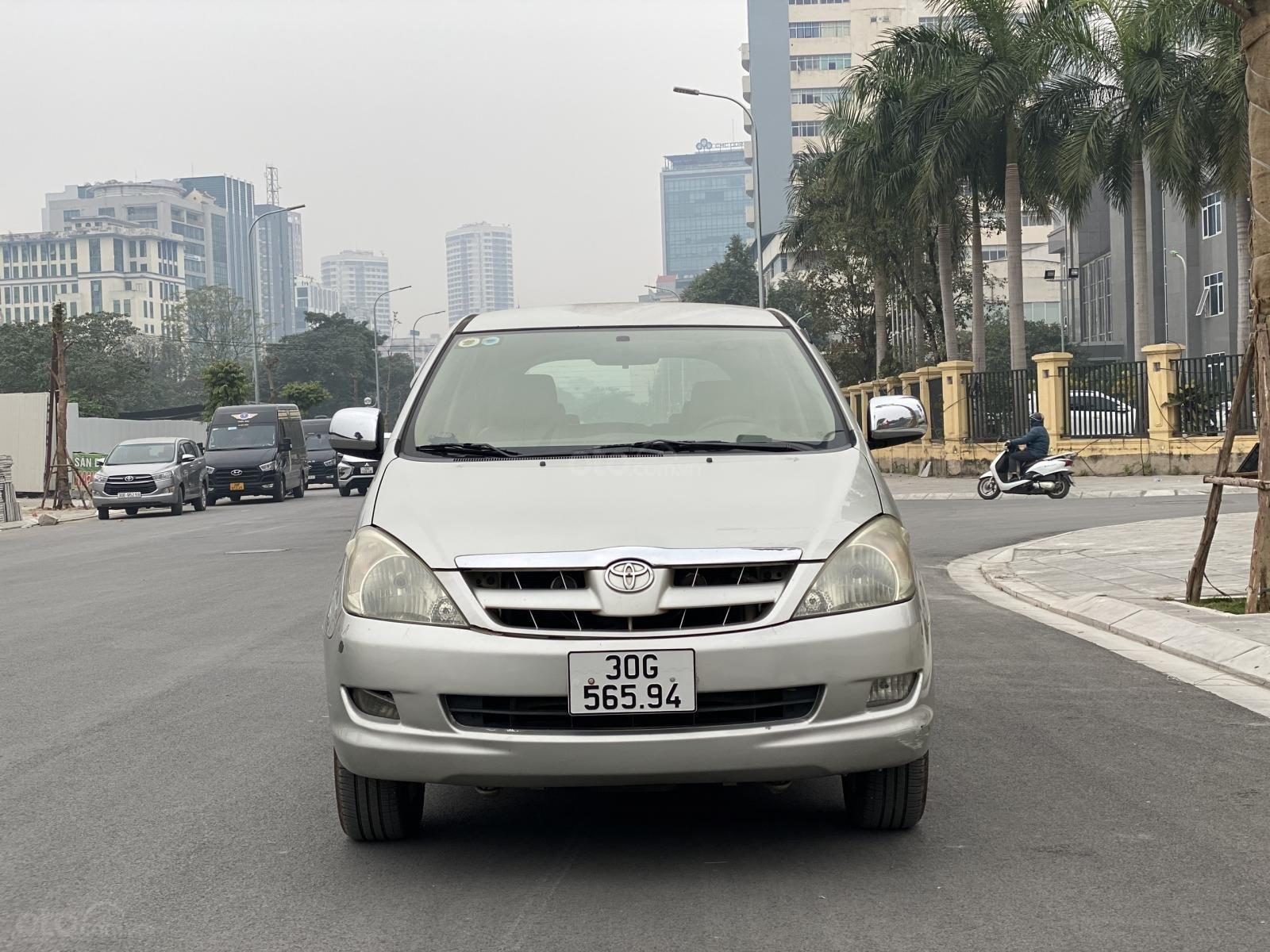 Bán nhanh Toyota Innova G 2007, không 1 ngày dịch vụ (2)
