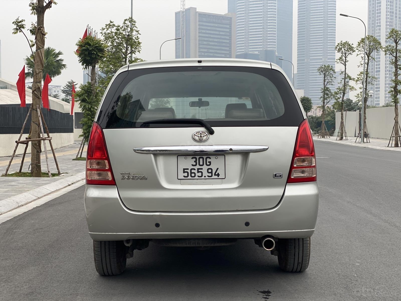Bán nhanh Toyota Innova G 2007, không 1 ngày dịch vụ (3)