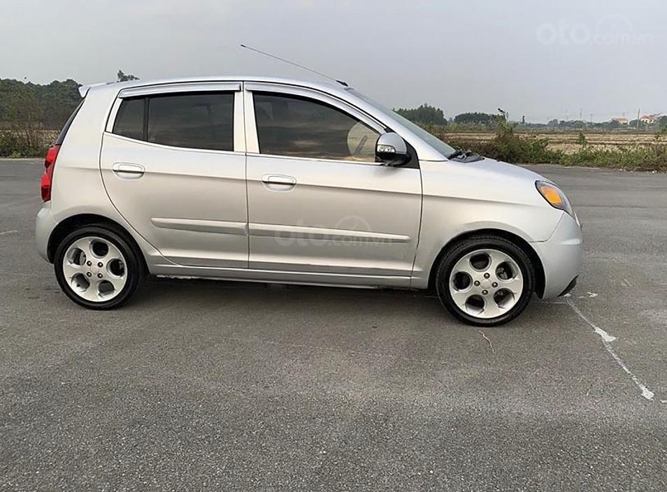 Bán Kia Morning SLX sản xuất năm 2008, màu bạc, nhập khẩu nguyên chiếc (1)