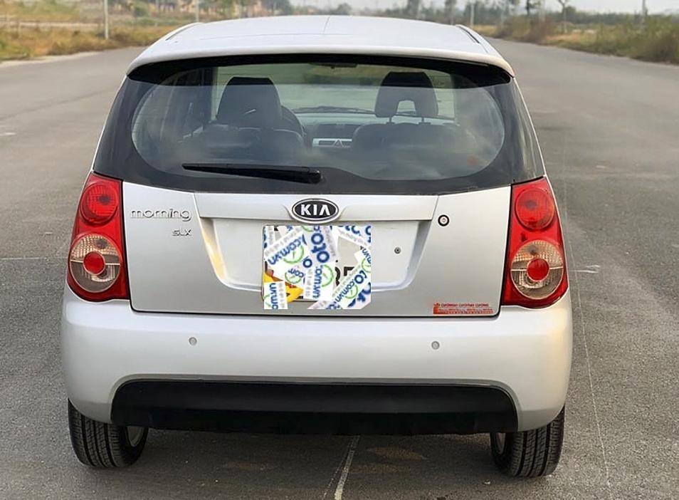Bán Kia Morning SLX sản xuất năm 2008, màu bạc, nhập khẩu nguyên chiếc (5)