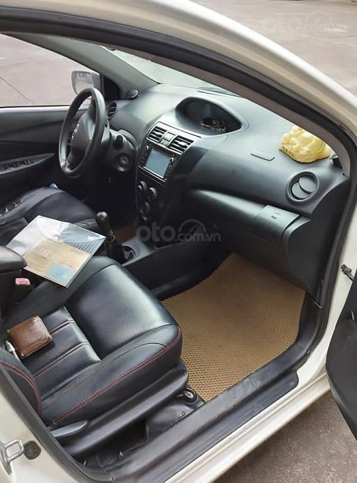 Cần bán xe Toyota Vios 1.5MT sản xuất 2010, màu trắng, giá 192tr (5)