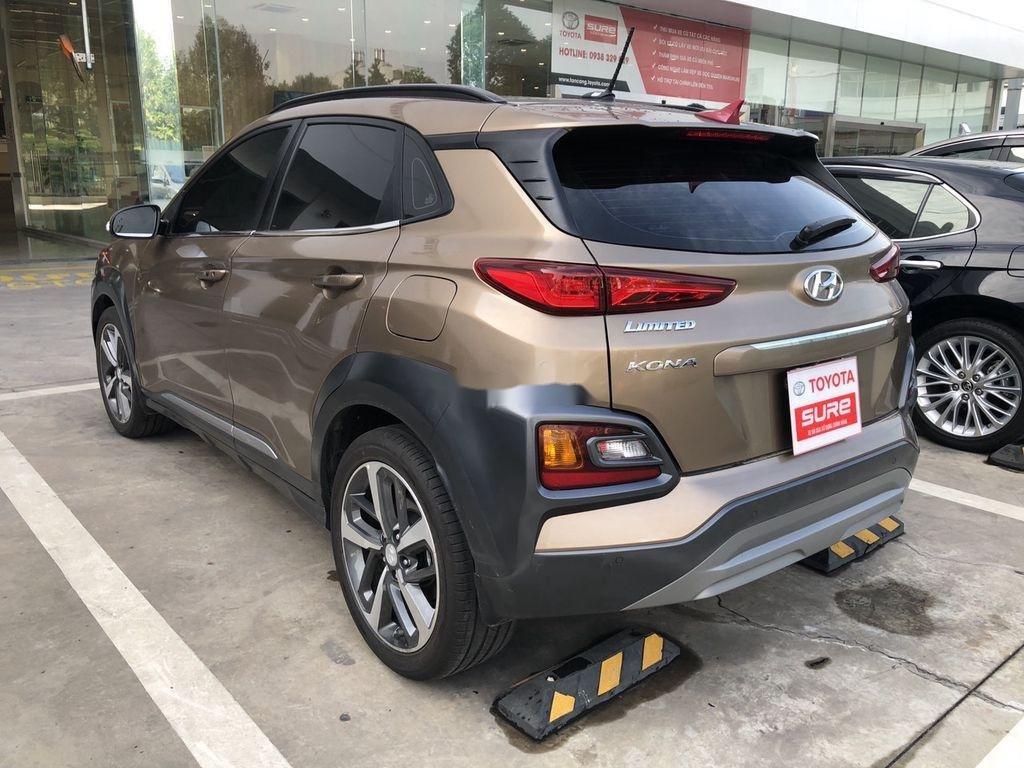 Bán Hyundai Kona sản xuất năm 2018, màu nâu (5)