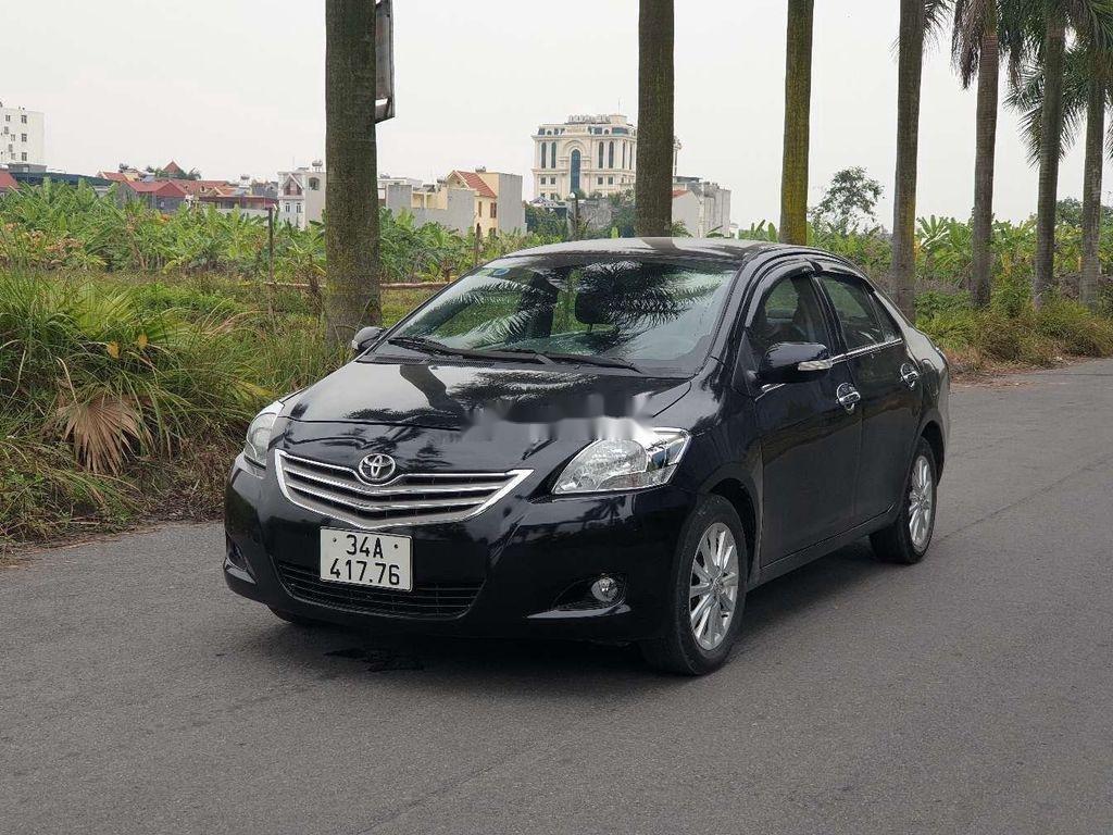 Cần bán xe Toyota Vios đời 2011, màu đen, giá chỉ 210 triệu (2)