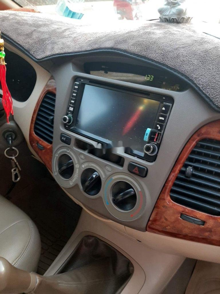 Bán Toyota Innova năm sản xuất 2007, màu bạc còn mới (6)