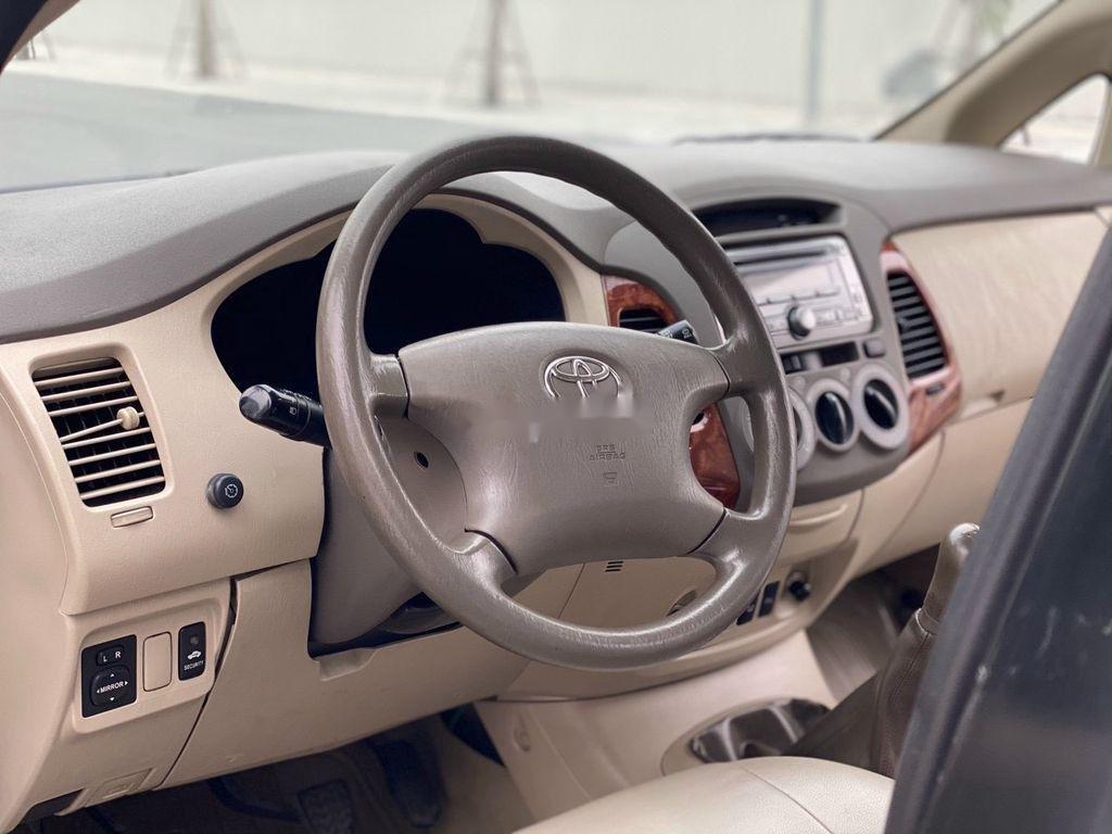 Cần bán xe Toyota Innova năm 2007, màu bạc chính chủ, giá 275tr (7)