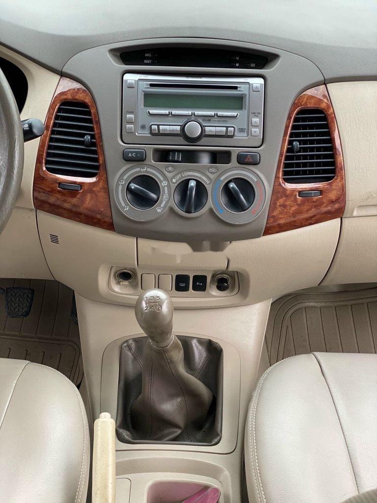 Cần bán xe Toyota Innova năm 2007, màu bạc chính chủ, giá 275tr (6)