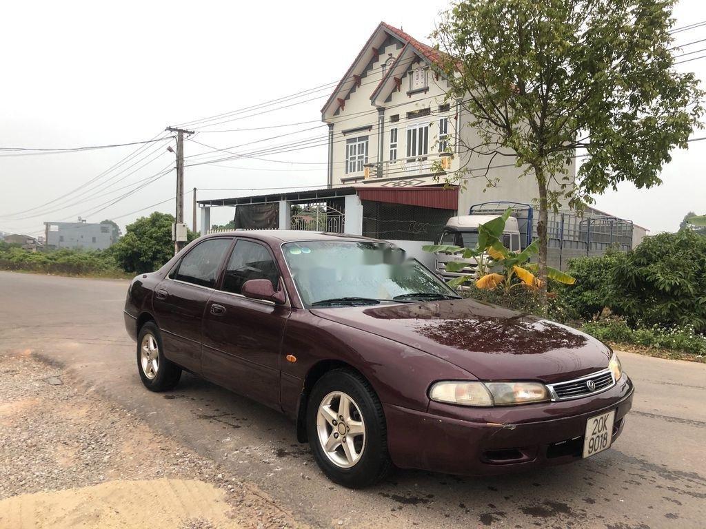 Bán xe Mazda 626 đời 1995, màu đỏ, xe nhập (2)