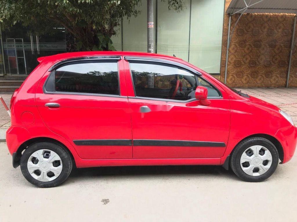 Bán Chevrolet Spark đời 2015, màu đỏ chính chủ, giá tốt (8)