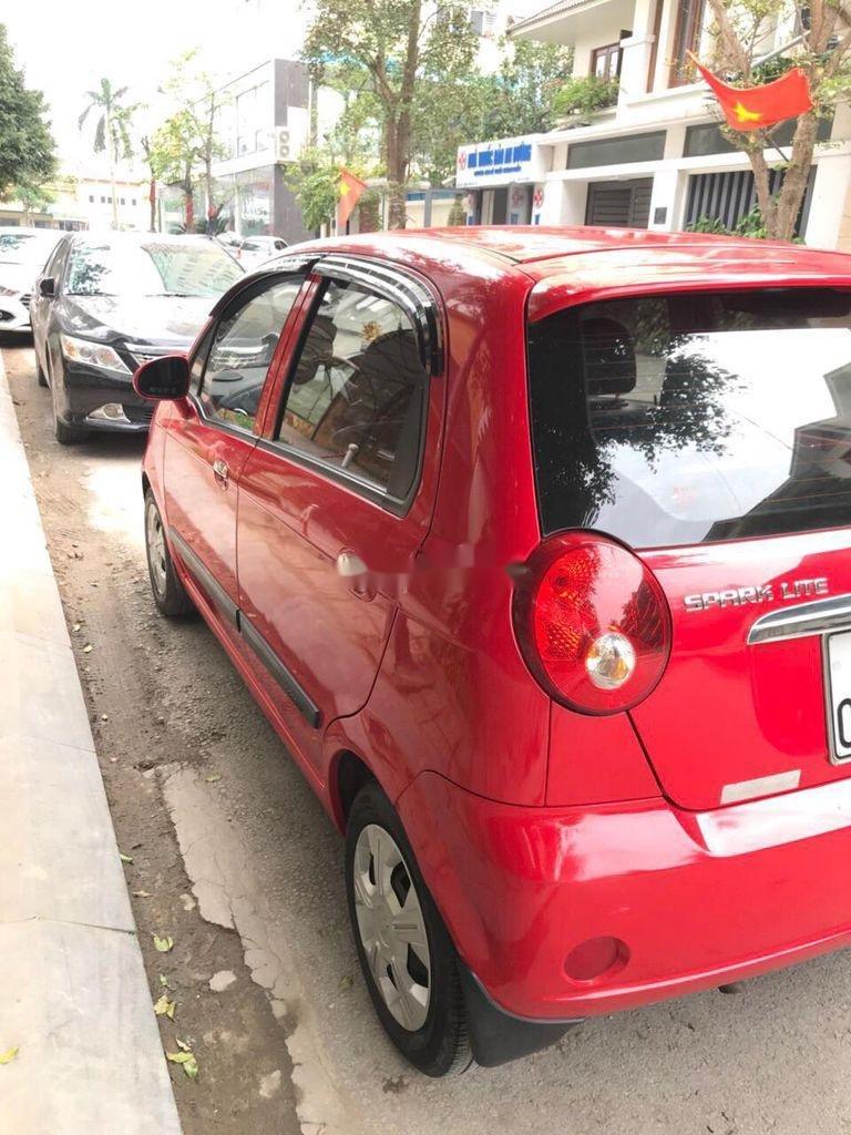 Bán Chevrolet Spark đời 2015, màu đỏ chính chủ, giá tốt (4)