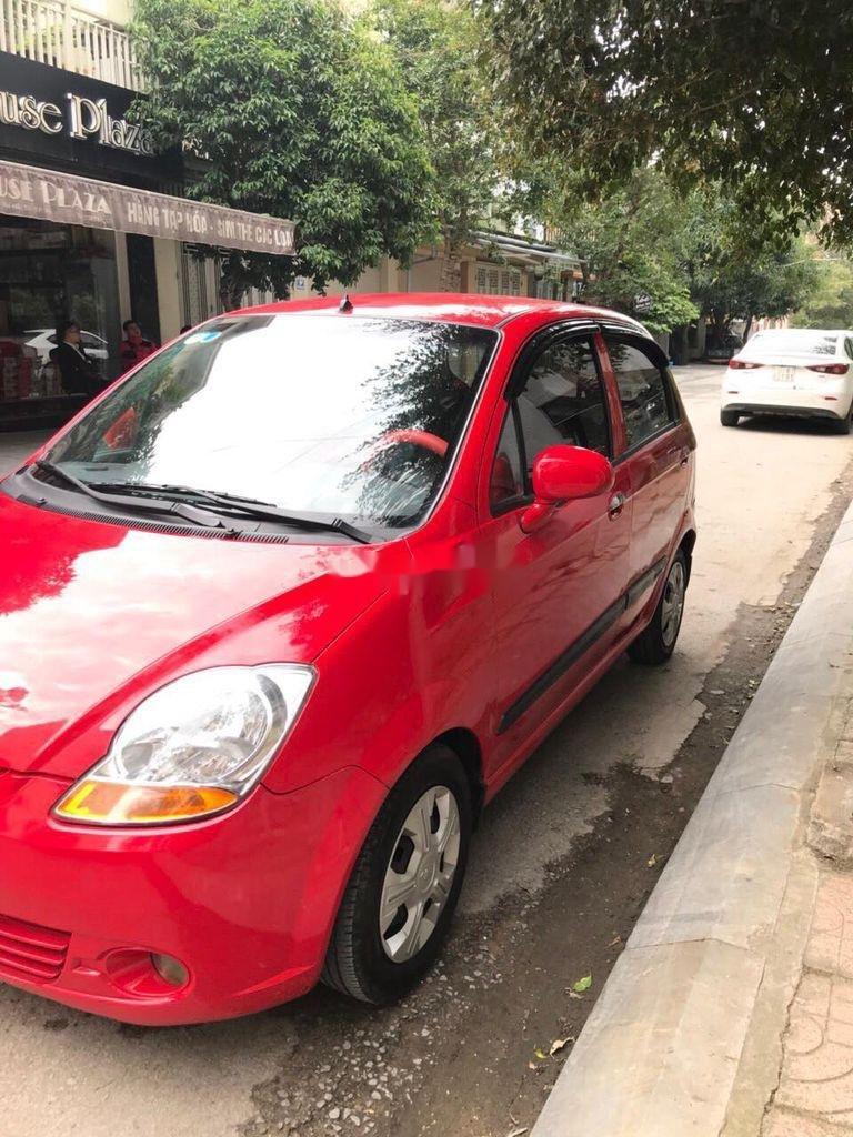 Bán Chevrolet Spark đời 2015, màu đỏ chính chủ, giá tốt (7)