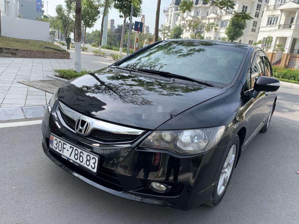 Cần bán Honda Civic đời 2010, màu đen, nhập khẩu nguyên chiếc (2)